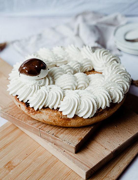Afbeelding van Appel/abrikoos slagroom