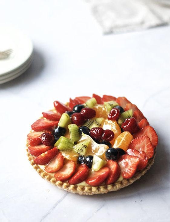 Afbeelding van Vers fruit feuilleté